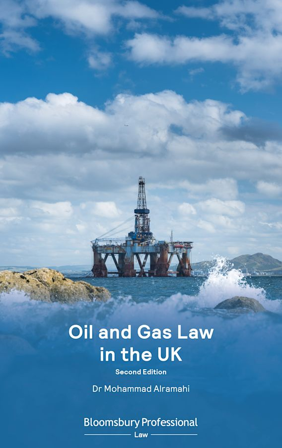 Oil and Gas Law in the UK cover