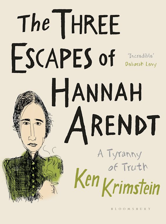 The Three Escapes of Hannah Arendt cover