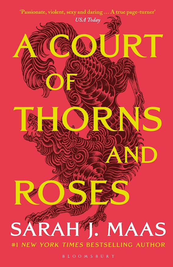 A Court of Thorns and Roses cover