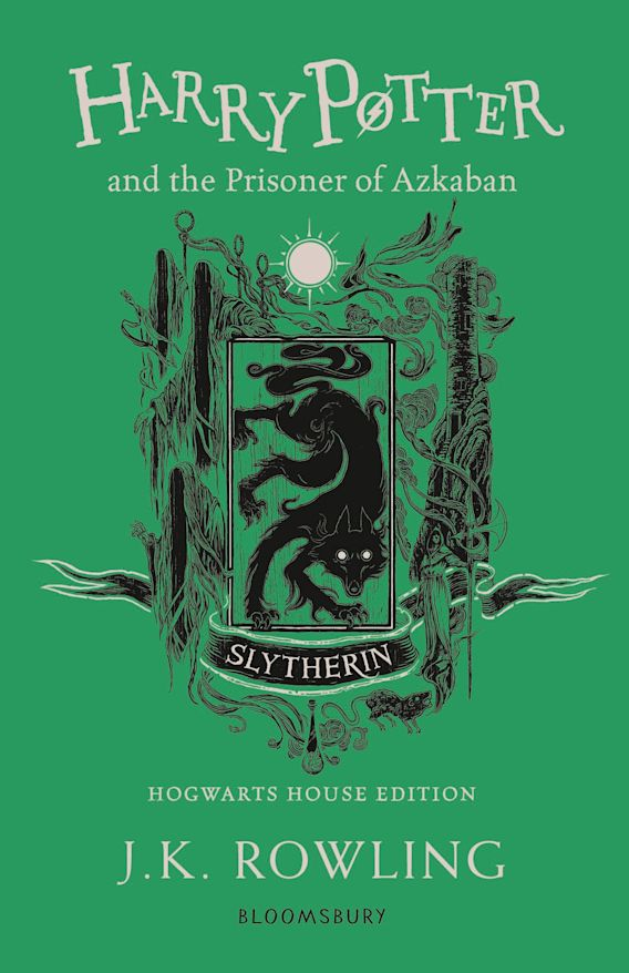 Harry Potter and the Prisoner of Azkaban – Slytherin Edition cover