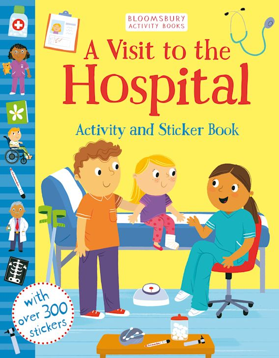 A Visit to the Hospital Activity and Sticker Book cover