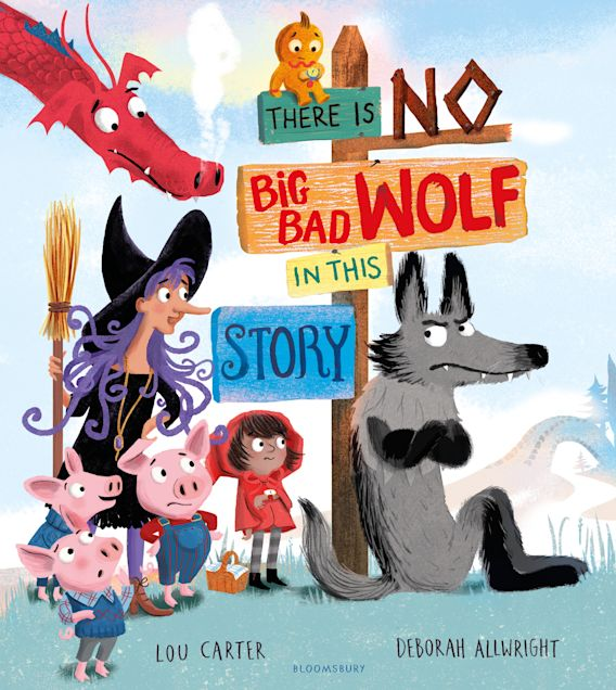 There Is No Big Bad Wolf In This Story cover