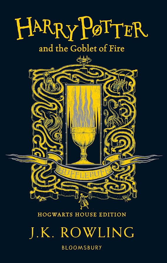 Harry Potter and the Goblet of Fire – Hufflepuff Edition cover