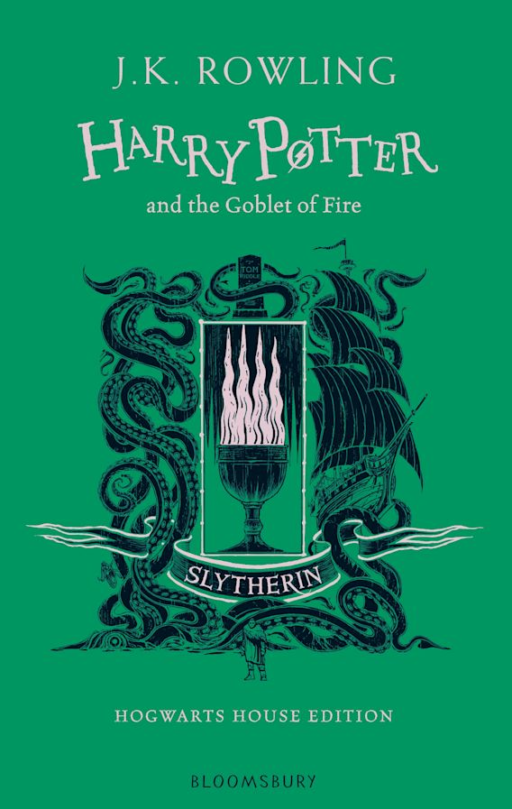 Harry Potter and the Goblet of Fire – Slytherin Edition cover