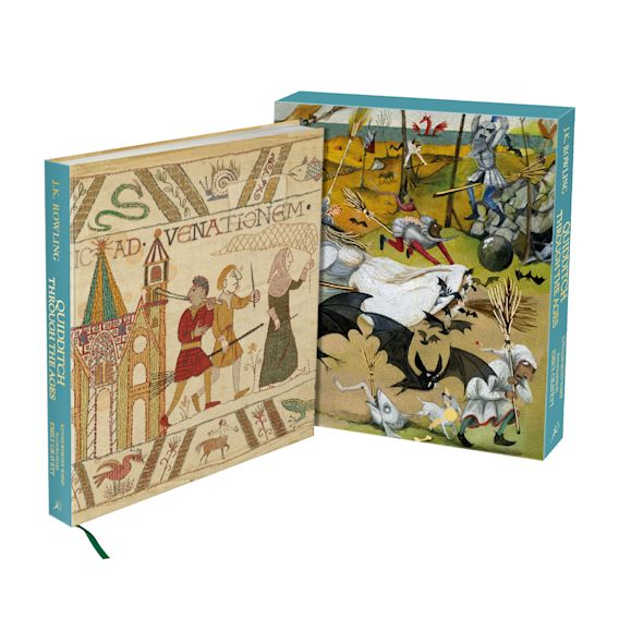 Quidditch Through the Ages - Illustrated Edition cover