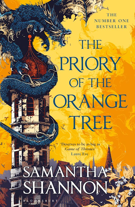The Priory of the Orange Tree cover