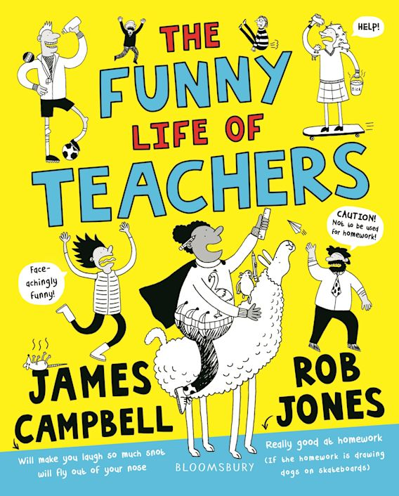 The Funny Life of Teachers cover