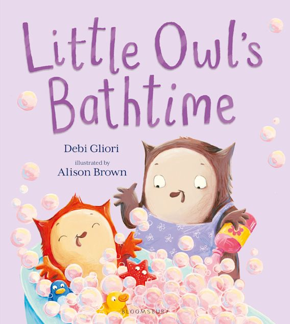 Little Owl's Bathtime cover