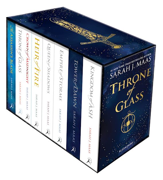 Throne of Glass Paperback Box Set cover