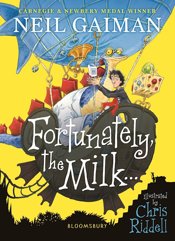 Fortunately, the Milk . . . cover