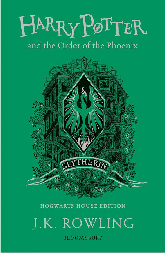 Harry Potter and the Order of the Phoenix – Slytherin Edition cover