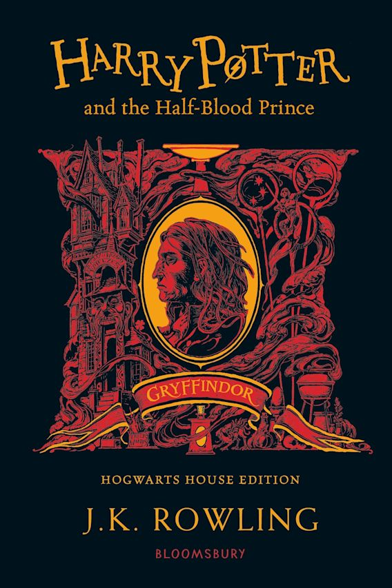 Harry Potter and the Half-Blood Prince - Gryffindor Edition cover
