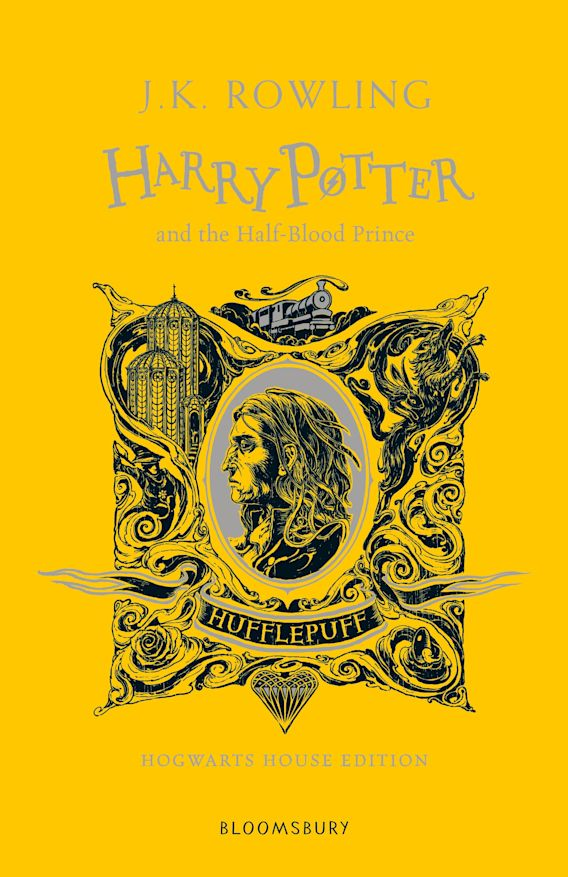 Harry Potter and the Half-Blood Prince - Hufflepuff Edition cover
