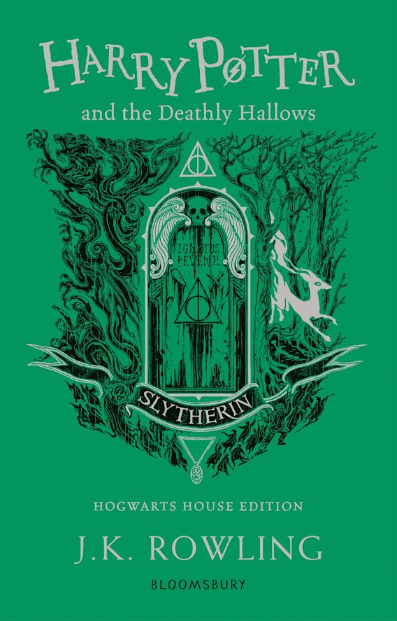 Harry Potter and the Deathly Hallows - Slytherin Edition cover