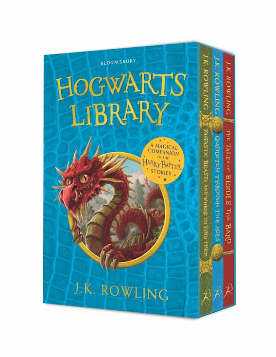 The Hogwarts Library Box Set cover