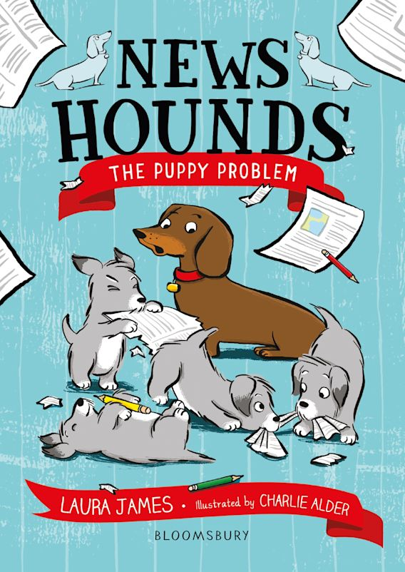 News Hounds: The Puppy Problem cover