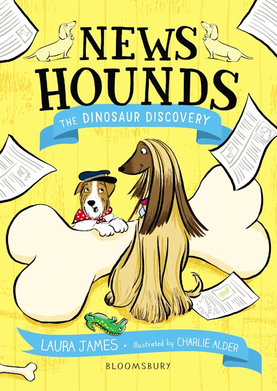 News Hounds: The Dinosaur Discovery cover