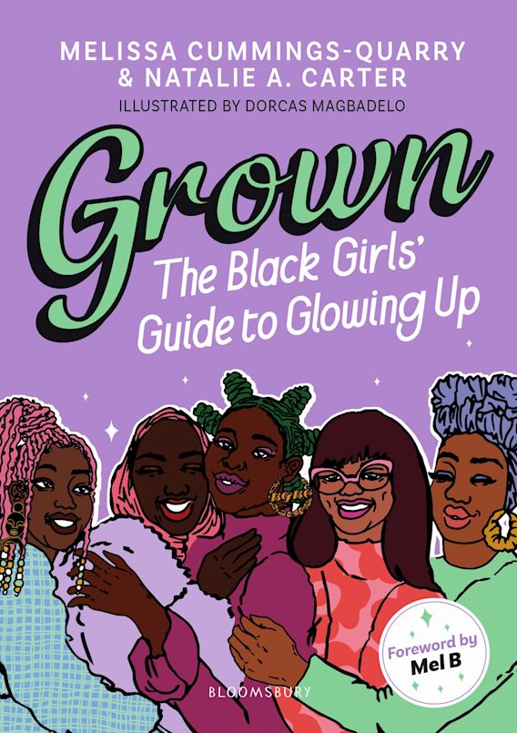 Grown: The Black Girls' Guide to Glowing Up cover