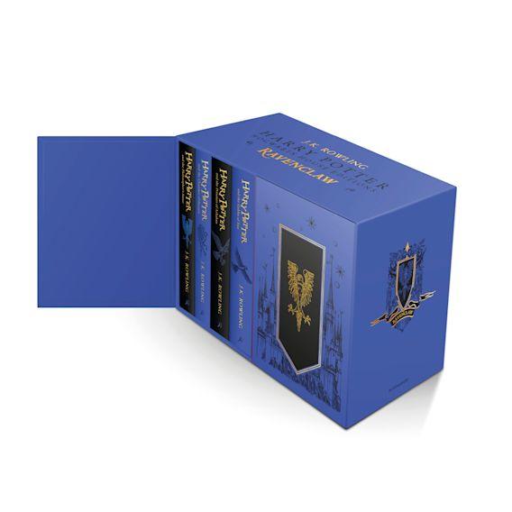 Harry Potter Ravenclaw House Editions Hardback Box Set cover