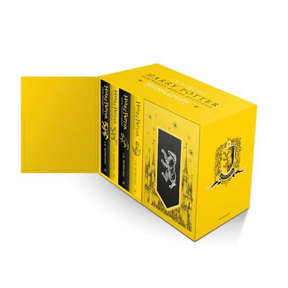 Harry Potter Hufflepuff House Editions Hardback Box Set cover