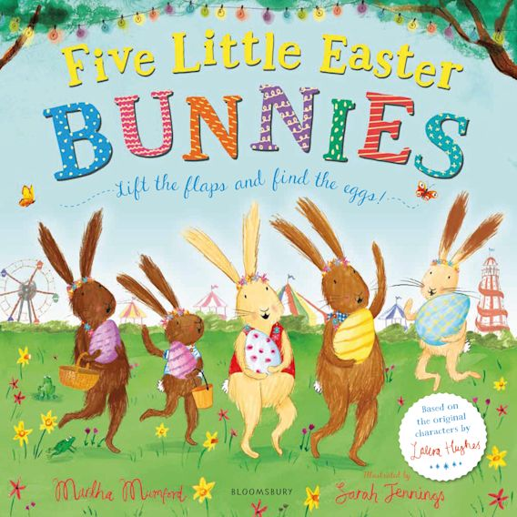 Five Little Easter Bunnies cover