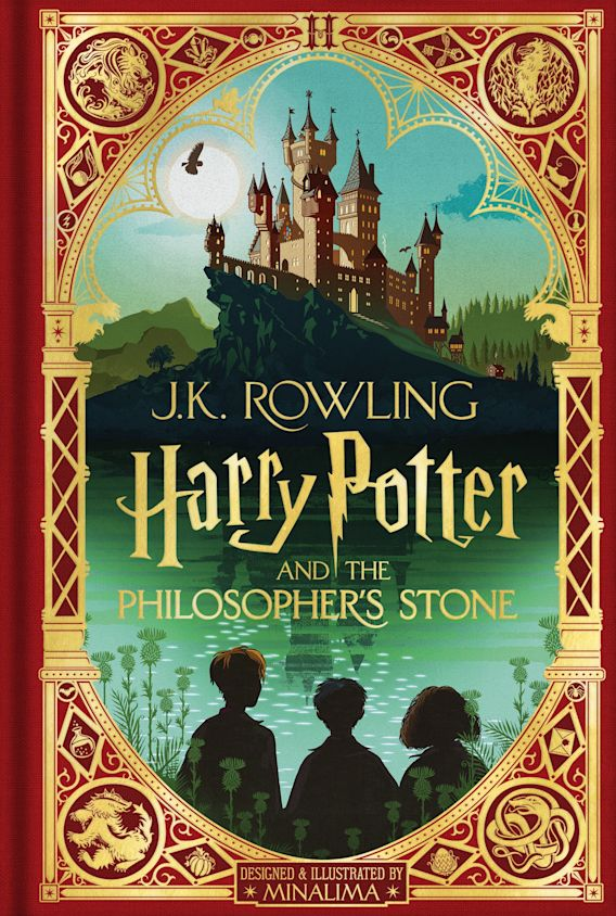 Harry Potter and the Philosopher's Stone: MinaLima Edition cover