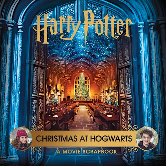 Harry Potter – Christmas: A Movie Scrapbook cover