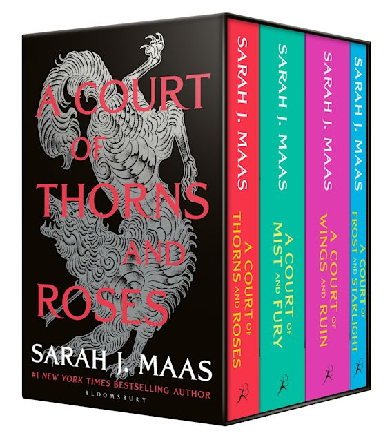 A Court of Thorns and Roses Box Set cover