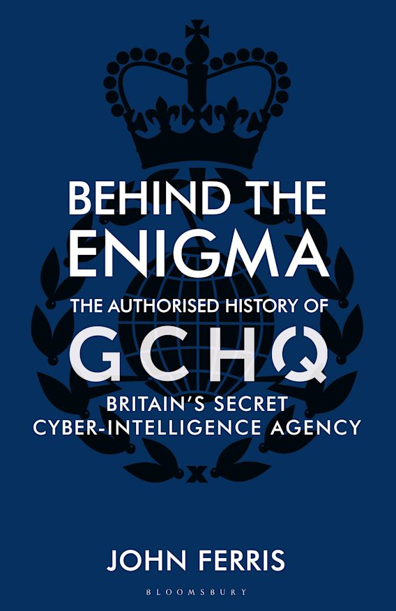 Behind the Enigma cover