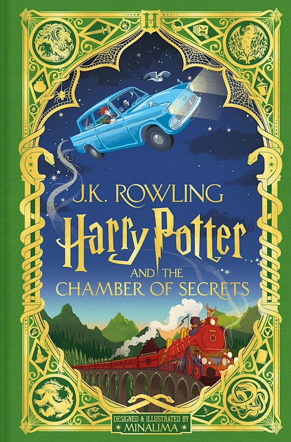 Harry Potter and the Chamber of Secrets: MinaLima Edition cover