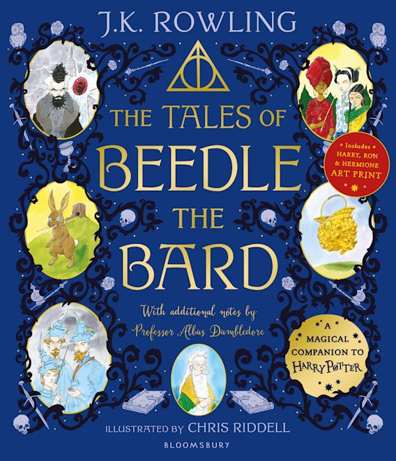 The Tales of Beedle the Bard - Illustrated Edition cover