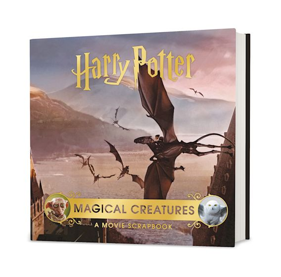 Harry Potter – Magical Creatures: A Movie Scrapbook cover