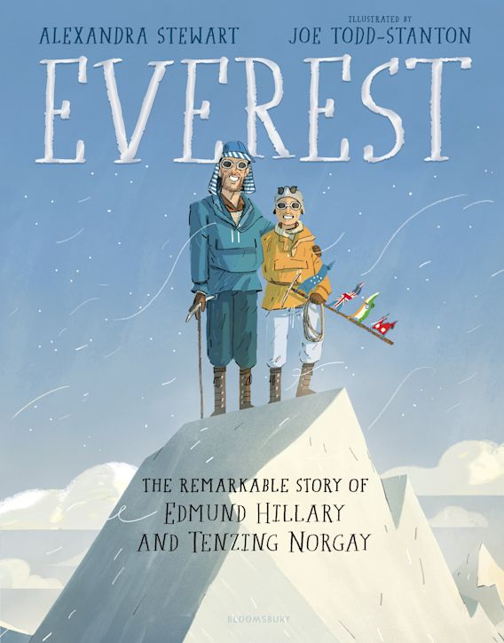 Everest: The Remarkable Story of Edmund Hillary and Tenzing Norgay cover