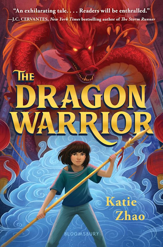 The Dragon Warrior cover
