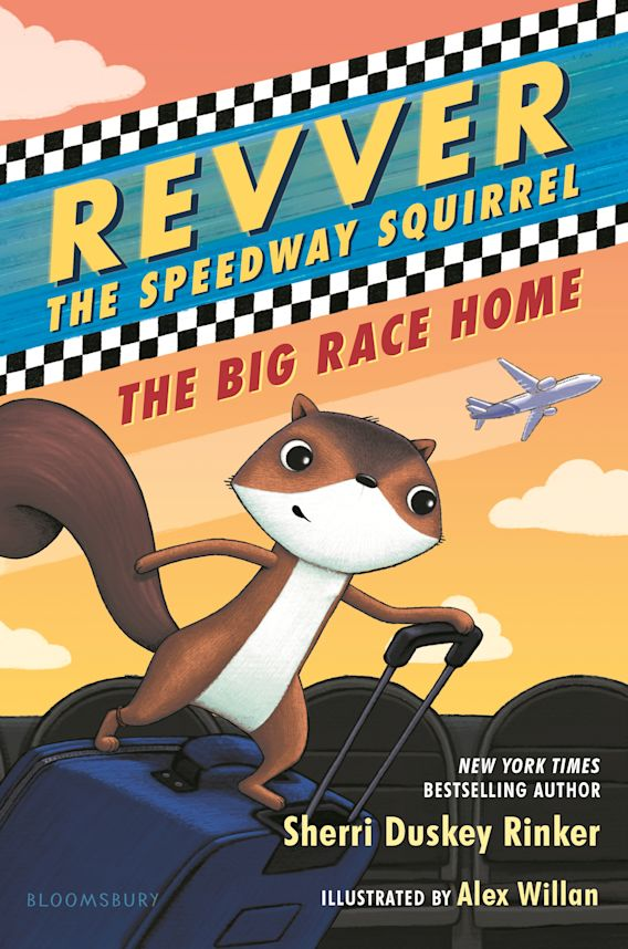 Revver the Speedway Squirrel: The Big Race Home cover