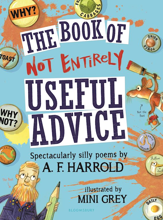 The Book of Not Entirely Useful Advice cover