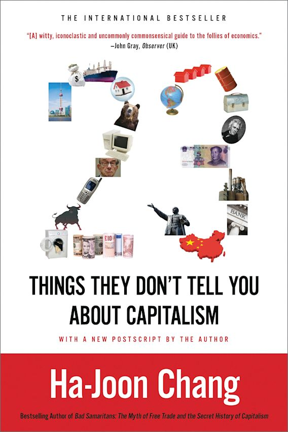 23 Things They Don't Tell You about Capitalism cover