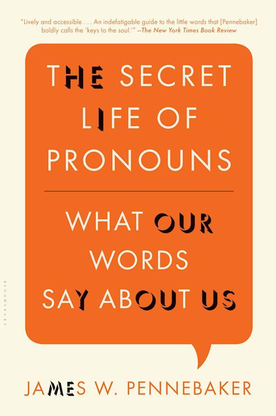 The Secret Life of Pronouns cover