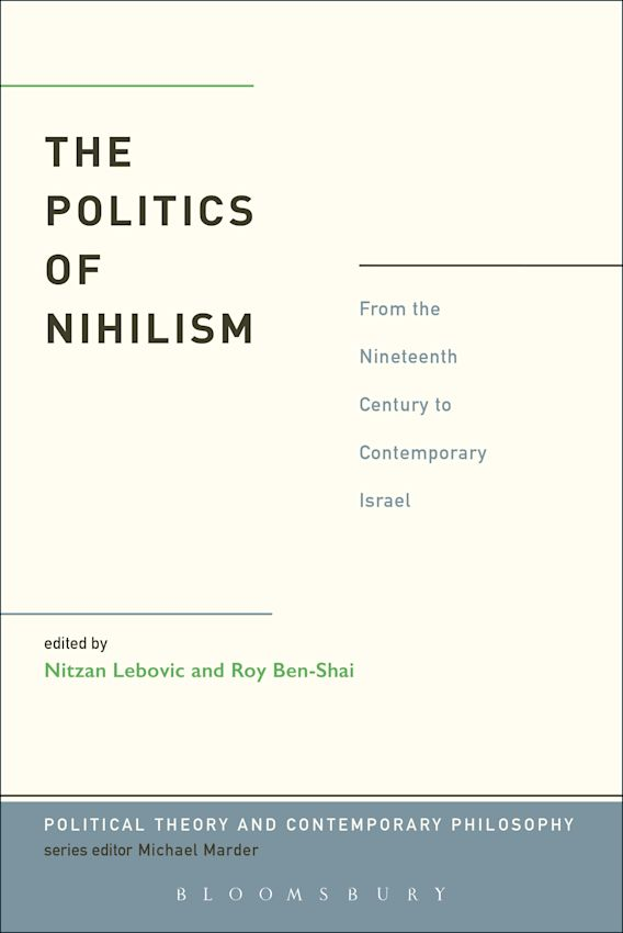 The Politics of Nihilism cover