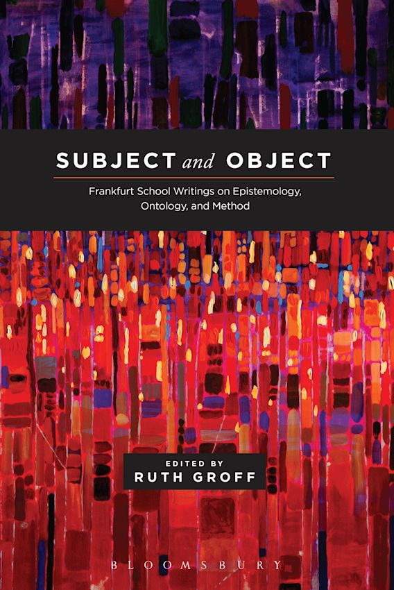 Subject and Object cover