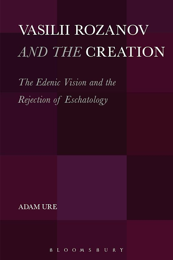 Vasilii Rozanov and the Creation cover