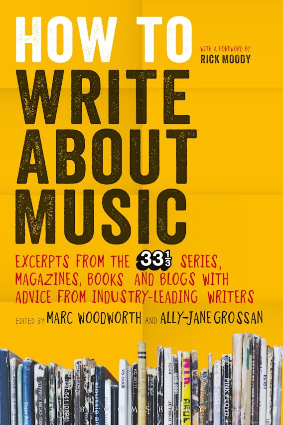 How to Write About Music cover