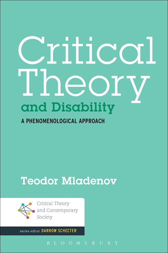 Critical Theory and Disability cover