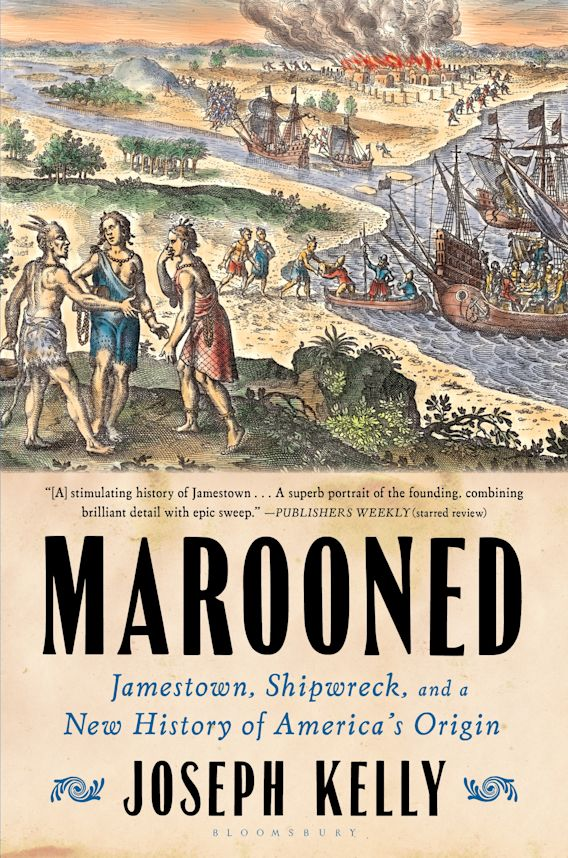 Marooned cover