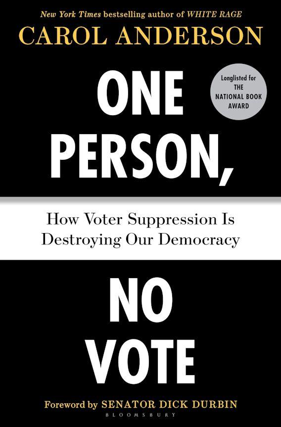 One Person, No Vote cover