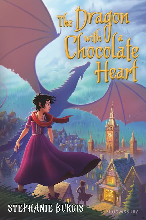 The Dragon with a Chocolate Heart cover