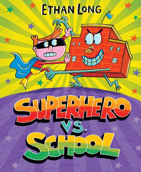 Superhero vs. School cover