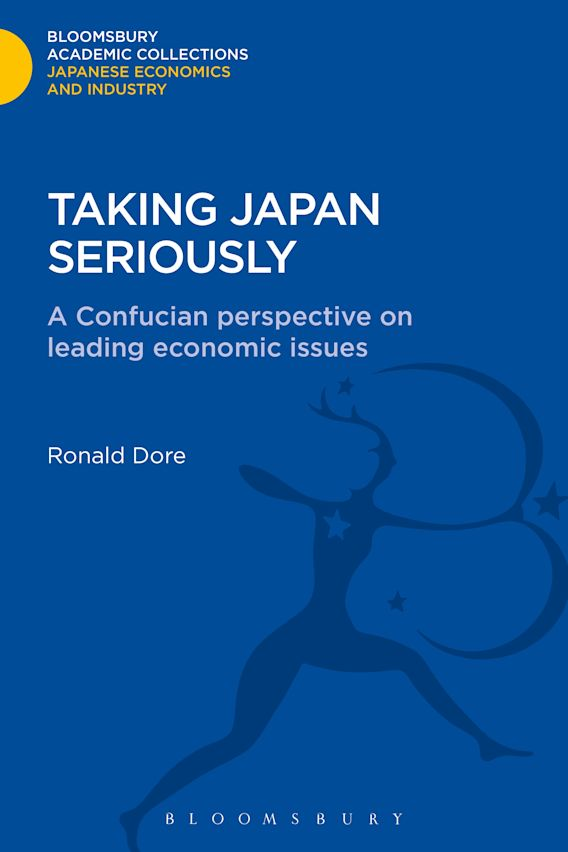 Taking Japan Seriously cover