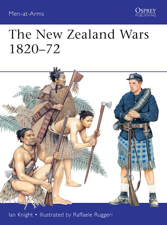 The New Zealand Wars 1820–72 cover