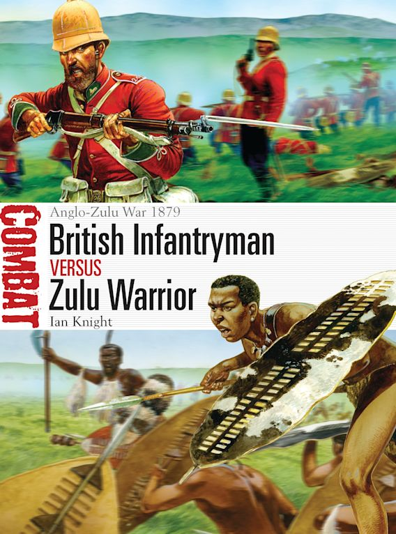 British Infantryman vs Zulu Warrior cover